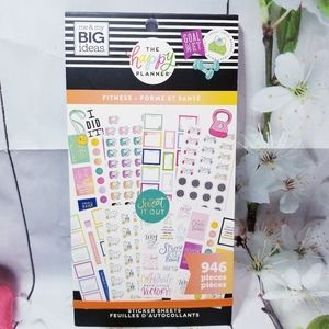 Fitness Sticker Book The Happy Planner New